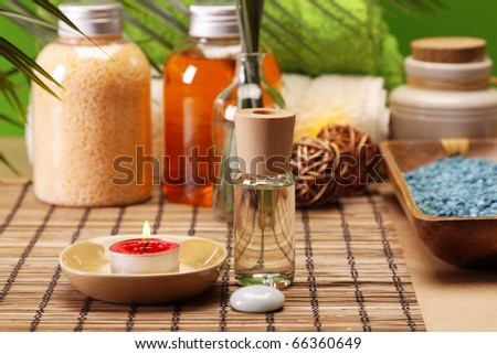 Spa and beauty - stock photo