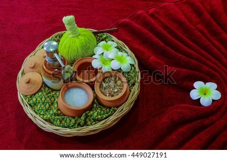 Spa and massage, Thailand - stock photo