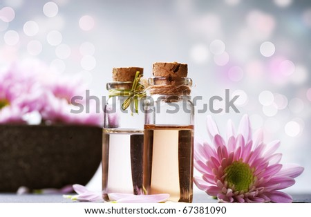 Spa.Aromatherapy - stock photo
