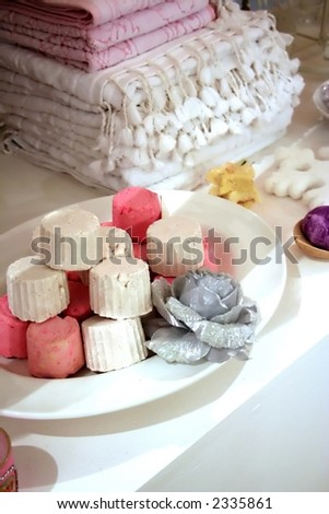 spa at home - stock photo