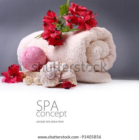 Spa background - stock photo
