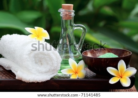 Spa background,wellness and relaxation concept. - stock photo