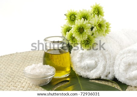 Spa background, wellness and relaxation concept. - stock photo