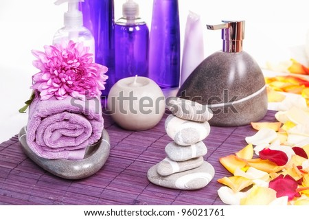 SPA beauty treatment products