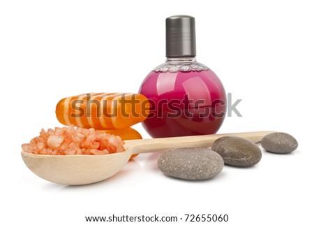 SPA cosmetics - stock photo