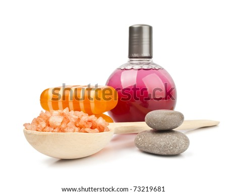 SPA cosmetics - stock photo
