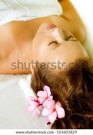 Spa . Day-Spa treatments - stock photo