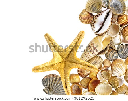 spa decoration from a sea - stock photo