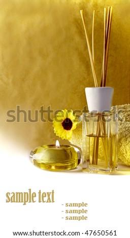 spa feeling - stock photo