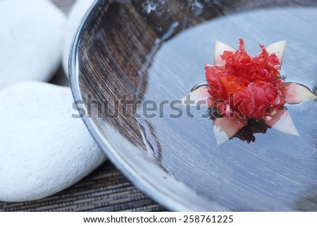 spa flower - stock photo