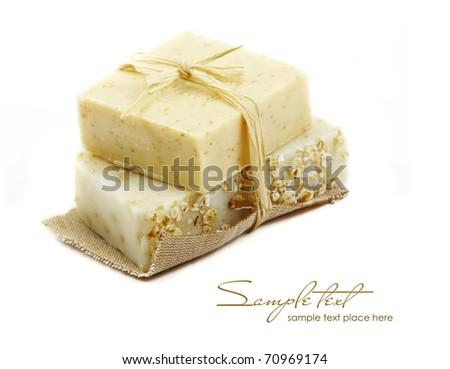 Spa Handmade Soap - stock photo