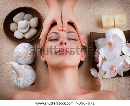 Spa Massage - stock photo