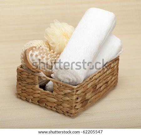 SPA Massage tools - stock photo