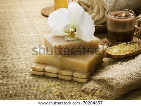 Spa natural treatments - stock photo