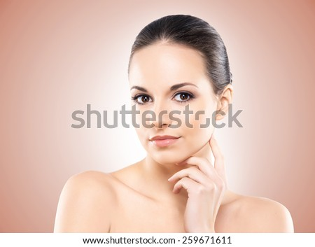Spa portrait of the young and healthy woman  - stock photo