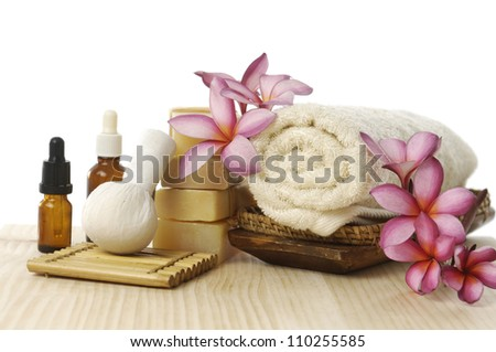 Spa resort and wellness composition - stock photo