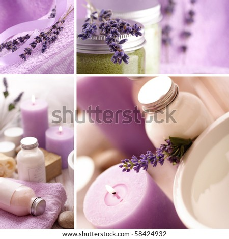 SPA still life collage