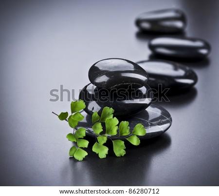 Spa Stones - stock photo