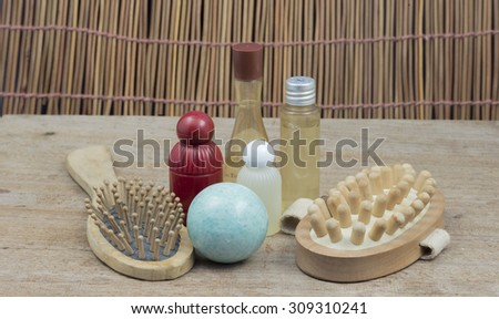Spa thai massage and beauty treatment and aromatherapy.Relax time. - stock photo