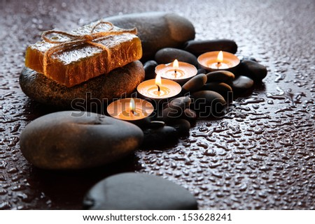 Spa Treatment Aromatherapy - stock photo