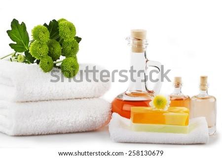 Spa Treatment, Health Spa, Merchandise. - stock photo