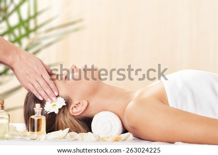 Spa Treatment, Massaging, Health Spa.