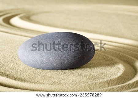 spa wellness background and sheng fui zen meditation garden for balance and harmony - stock photo