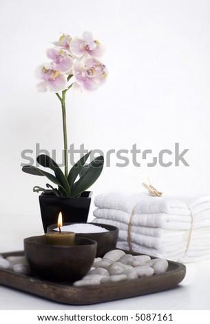 Spa wellness Cameo - stock photo