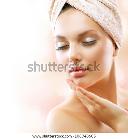 Beauty Stock Photos Beautiful Girl After Bath