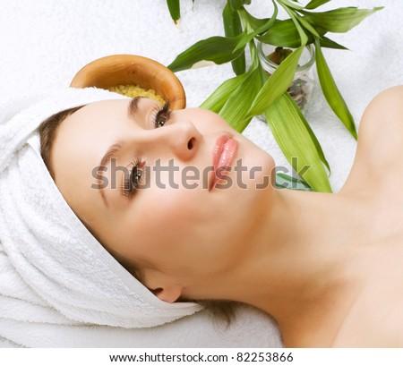 Spa Woman.Beauty Treatments - stock photo