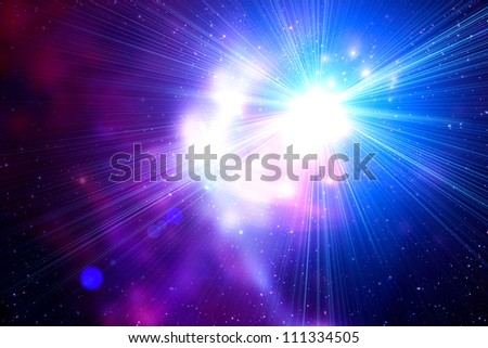 Space - stock photo