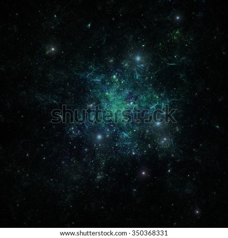 Space background, Night sky - Universe filled with stars