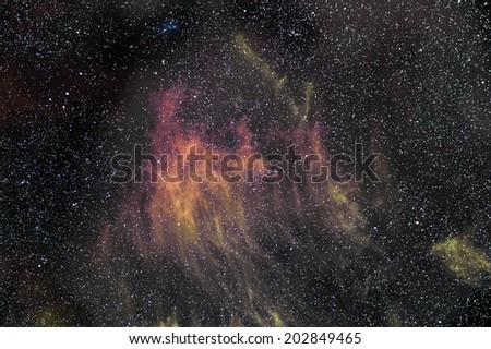 Space nebula.  - stock photo