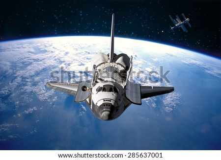 if an astronaut in an orbiting space shuttle wished - photo #41