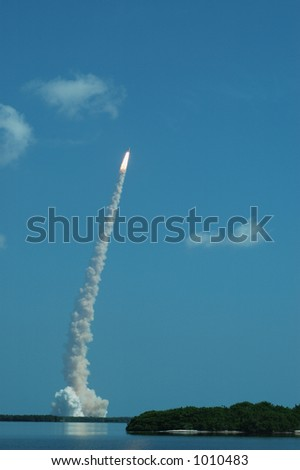 Space Shuttle STS-114 Launch - stock photo