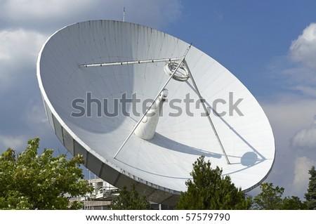 Space Telecommunication Station - stock photo
