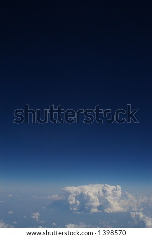 Space the final frontier - stock photo