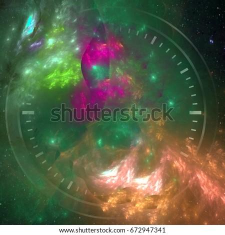 Космический циферблат