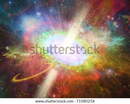 space vortex fantasy - stock photo