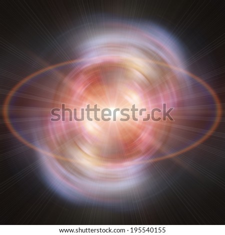 Space wormhole. Elements of this image furnished by NASA.
