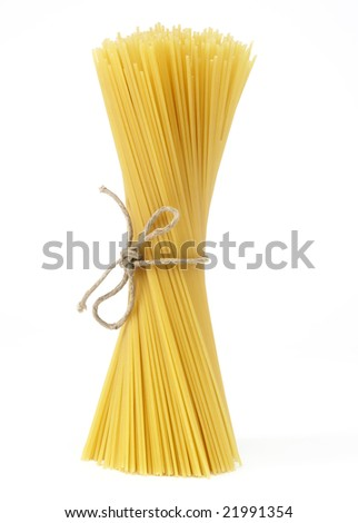Spaghetti-bundle - stock photo