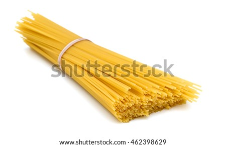 spaghetti on lay down white