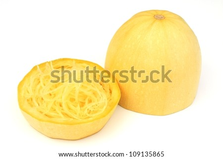Spaghetti squash - stock photo