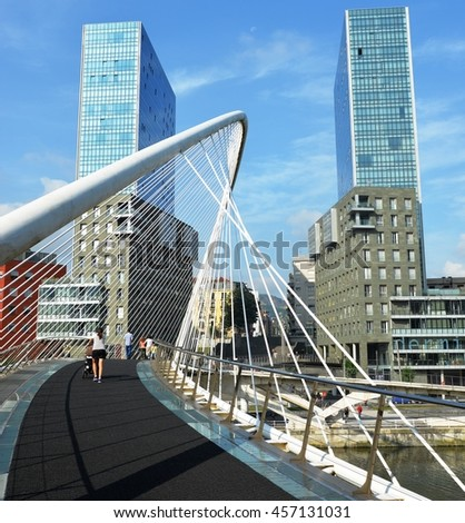 Spain, Bilbao Bridge