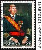 SPAIN - CIRCA 1993: A stamp printed in the Spain shows Don Juan de Bourbon, Count of Barcelona, circa 1993 - stock photo