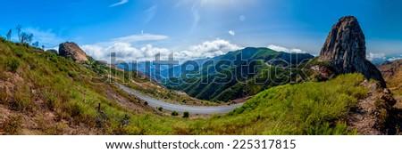 Spain, San Sebastian de La Gomera Island, Landscape - stock photo