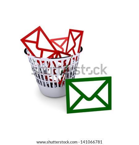 spam - stock photo