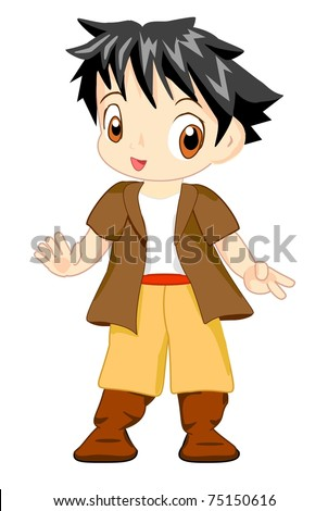 Spanish Boy - stock photo
