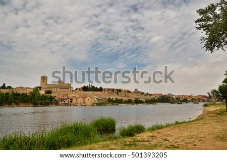 Spanish destination, old town of Zamora