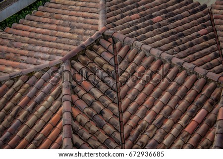 Spanish Roof Shingles